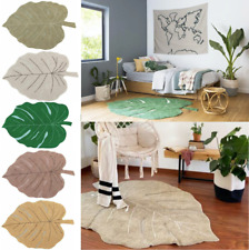 Lorena Canals Machine Washable Rug Monstera Leaf Plants Children's Room