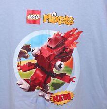 BNWOT LEGO MIXELS T shirt Rare Blue L 100% cotton Staff issue? Gift idea  B30