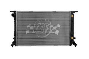 Radiator-1 Row Plastic Tank Aluminum Core CSF 3519