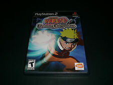 """Naruto: Uzumaki Chronicles  (PlayStation 2) Complete """"Great Condition"""""""