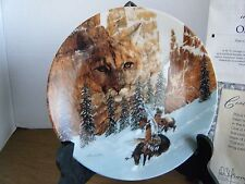 """""""Canyon of the Cat"""" 1st Faces of Nature Series Collector Plate With Coa"""