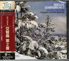 ANDRE PREVIN-SIBELIUS: SYMPHONY NO.2 IN D MAJOR. OP.43-JAPAN CD D20