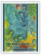 The Magic Flute Mozart Met Opera Vintage Advertising Art Poster Print
