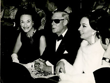 Wallis Simpson and her husband, the Duck of Windsor Vintage silver print Tirag