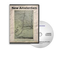 New Amsterdam (Old New York City) NY History Culture Genealogy 22 Books - D353