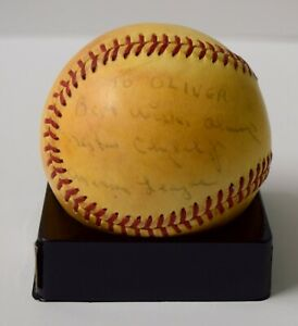 NESTOR CHYLAK SINGLE SIGNED AUTO AUTOGRAPH BASEBALL BALL RARE