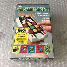 80s# Vintage Console Handheld TAKATOKU TOYS LSI GAME ROBOT 5#NIB