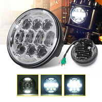 5-3/4 5.75 inch Projector H4 LED Headlight High Low Beam Headlamp for Motorcycle