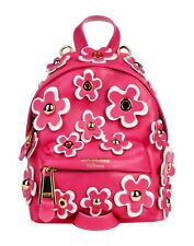 CHRISTMAS SPECIAL! Moschino Couture Jeremy Scott FLORAL LEATHER MINI BACKPACK