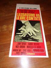 Locandina, L'assassino ha le ore Contate con Klaus Kinski  Blier Lee Servais