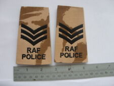RAF POLICE DESERT DPM RANK SLIDES IRAQ / AFGHANISTAN - SGT