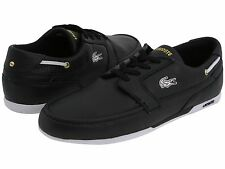 Lacoste Dreyfus AP Men's Casual Leather Sport Shoes US8/EUR40.5/MM252 Black