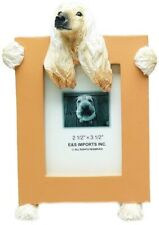 """Afghan Picture Frame 2 1/2"""" x 3 1/2"""" E&S 35315-89 Small Dog Picture Frame"""