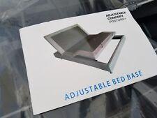 Classic Brands Adjustable Comfort Adjustable Bed Base Massage Wireless Remote