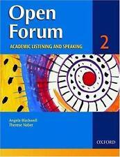 Open Forum: Student Book 2