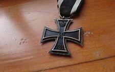 German WW1 Iron Cross, original maker marked Desirable Maker.