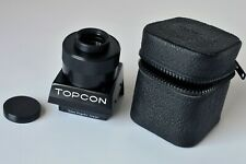 TOPCON MACRO 6.5X MAGNIFIER, HIGH MAGNIFICATION WAISTLEVEL FINDER, CASE Unused