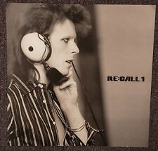 David Bowie Re:Call 1 - 2016 Cardboard Promo Poster Flat