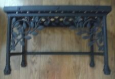 Longaberger Wrought Iron Small Dogwood Nesting Table with Woodcrafts top