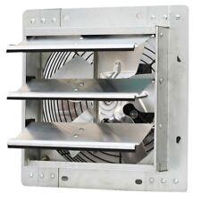 Shutter Exhaust Fan Variable Speed 10 in Speed Control Steel Frame Alloy Shutter