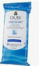 Olay Daily Facial Express Wet Cleansing Cloth 25 Wipes Alcohol Free