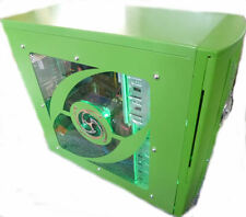 3.0 Ghz Intel Quad Core PC, Green Gaming Case - New Build