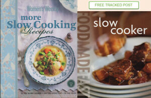 Women's Weekly - MORE SLOW COOKING RECIPES - SC + SLOW COOKER - FREE POST