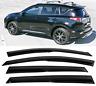 Fits 2013-18 2018 Toyota RAV4 Mugen Style Acrylic Window Visors Vent Sun Shade .