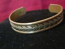 Pure Brand Solid Copper Bangle
