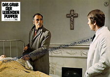 CHRISTOPHER LEE *AUSHANGFOTO #12 - GRAB DER LEBENDEN PUPPEN /DARK PLACES -GB1973