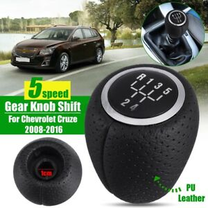 5 Speed Manual Gear Shift Knob For Holden Cruze 2009-2016 Epica 2007-2011 Black