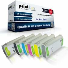 6x Cartuchos de tinta compatibles para HP designjet-t-610-24-inch Tinta Casettes