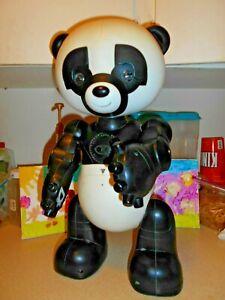 Wowwee Robopanda Robotic Panda With Cartridges 1 and 2.
