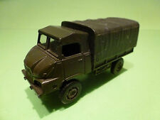 SOLIDO 235 SIMCA UNIC TRUCK SUMB 4x4 MILITARY- ARMY GREEN 1:50? - GOOD CONDITION