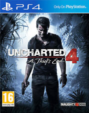 Uncharted 4 A Thiefs End ~ PS4 (in Great Condition)