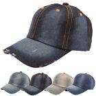 Fashion Men's Women's Jean Sport Hat Casual Denim Baseball Cap Sun Unisex Hats
