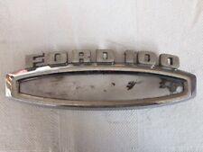 Original 1965 1966 Ford F100 Side Fender RANGER Emblem C5TB-16720-C Custom Cab