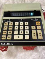 Radio Shack Model EC-2001 Vintage Calculator Cat. No. 65-660 Tested PLEASE READ