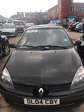 Renault clio mk2 mk II Bonnet black nv676 2001-06