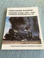 Union Pacific Railroad Painting Guide, 1903-1930, Common Standard No. 22