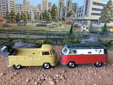 Corgi 433 + 490  Volkswagen Delivery Van plus  Breakdown truck  both play worn