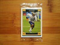 2006 Topps Football ROOKIE Sealed Bonus Pack