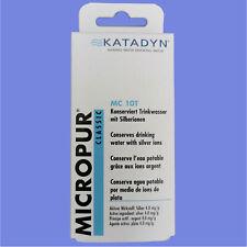 Katadyn Micropur MC T10 Trinkwasserkonservierung Wasseraufbereitung 40 Tabletten