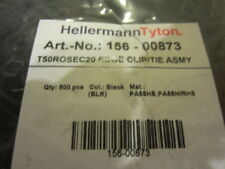 Hellermann Tyton 156-00873 Edge Clip Tie Assemblies (500 pieces)