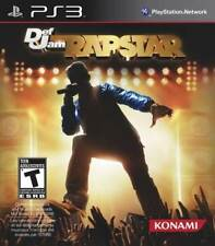 Def Jam Rapstar - Game Only Mic Required MC Experience Drake Snoop Dogg PS3 NEW