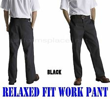 Dickies Pants Mens Relaxed Fit Flat Front WP875 Work Pant