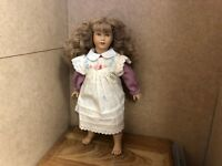 Heidi Ott Vinyl Puppe 31 cm. Top Zustand