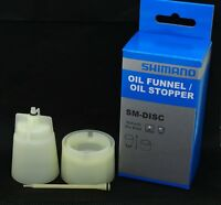 Genuine Shimano Hydraulic Disc Brake Bleed Parts Oil Funnel/Stopper, SM-DISC NIB