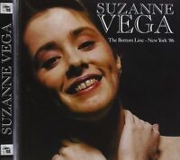 Suzanne Vega - The Bottom Line - New York '86 (2015)  CD  NEW/SEALED  SPEEDYPOST