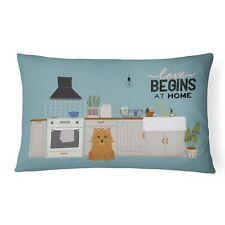 """Caroline's Treasures Kitchen Scene Canvas Fabric Decorative Pillow Patio-Fur."